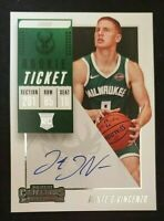 2018-19 Contenders Rookie Auto Donte DiVincenzo Milwaukee Bucks +(RC 8 card lot)