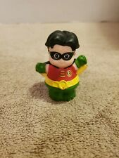 Fisher Price Little People 2012 Robin Hero Figure From Batman