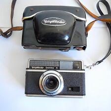 Voigtlander Bessy S 1960s Film Camera, Germany, Hard Case