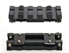 Ventilated shotgun rib to picatinny weaver rail adapter