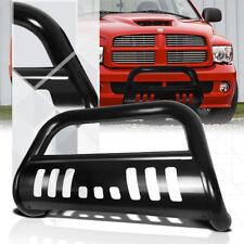 "Black 3"" Front Bumper Bull Bar Brush Grille Guard for 02-09 Ram 1500/2500/3500"