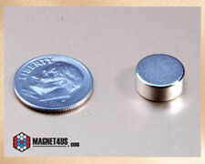 "12pcs Super Strong Craft Magnets Neodymium Rare earth Disc 7/16""dia x 3/16""thick"