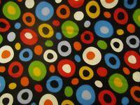 Celebrate Dr. Seuss 11966 Multi Color Dot Robert Kaufman FLANNEL Fabric 1/2 YARD