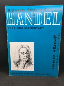 ANSON Introduces The Handel Elementary Piano Book 1 #8415