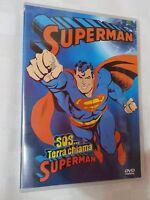 SUPERMAN SOS TERRA CHIAMA - CARTONE ANIMATO IN DVD -visitate COMPRO FUMETTI SHOP