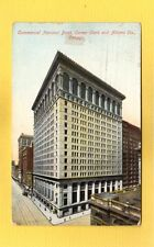 Chicago,IL Illinois Commercial National Bank,corner Clark and Adams used 1911