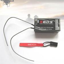 RC Pro S603 6 channel Full Range 2.4Ghz Receiver Spektrum AR610 ZQ RC Models ZQ