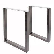 Tischgestell Tischbein U-Gestell Esstisch Schreibtisch Tisch Möbel Loft Stahl S