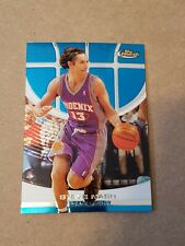2005 2006 Topps Finest Steve Nash Basketball Card #54 Phoenix Suns HOF NBA MVP