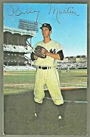 1953-55 Dorrmand Postcard BILLY MARTIN New York Yankees EX-