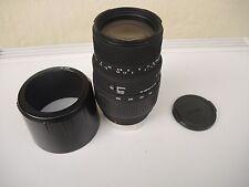 Objektiv Sigma 70-300mm 1:4-5.6 DG -- Japan -- TOP !!!