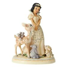 Disney Traditions 6000943 20cm Cream Forest Friends Snow White Figurine