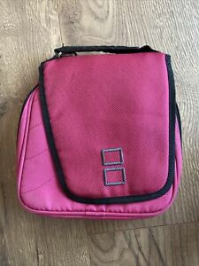 Nintendo DS Lite, DSI, 3DS, Pink Travel Pouch Carrying Game Case Storage Bag