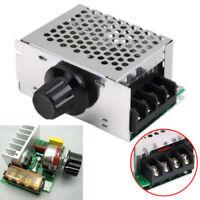 AC 220V 4000W SCR Voltage Regulator Dimmer Motor Speed Controller Module + Shell