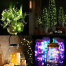 LED Fairy String Lights Wine Bottle Copper Cork Wire Lamp Battery Party Decor US