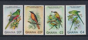 Ghana - 1981, Birds set - MNH - SG 939/42