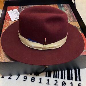 Nick Fouquet X Borsalino Beaver Fur Hat Brimmed Hat Match
