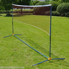 Portable Training Beach Volleyball Badminton Tennis net with carrying bag
