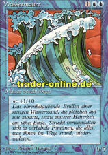 Wassermauer (Wall of Water) Magic limited black bordered german beta fbb foreign
