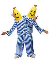 CA279 Licensed Bananas in Pyjamas B1 B2 Mens Fancy Dress Adult Costume
