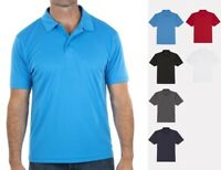 G3 Mens Short Sleeved Cool Wicking Polo Shirt Breathable Microfibre Sports Golf