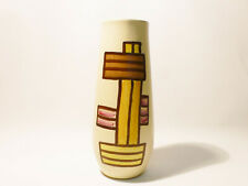 Retro/Vintage Vase, 20 cm hoch, abstraktes Muster