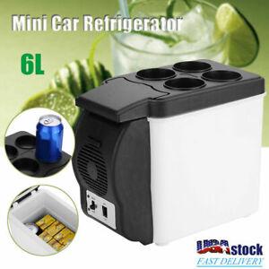 Mini Fridge Portable 12V 6 Liters Mini Refrigerator Cooler and Warmer