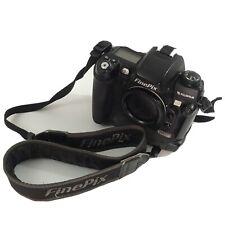 Fuji Fujifilm FinePix S3 Pro 12.9MP Digital SLR Camera Body SD Card Slot Strap