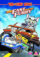 Tom And Jerry - The Fast And The Furry (DVD, 2006, Animated)