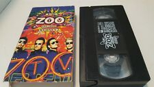 U2  Zoo TV Live From Sydney VHS Bono Adam Clayton The Edge Larry Mullen Jr. Rock