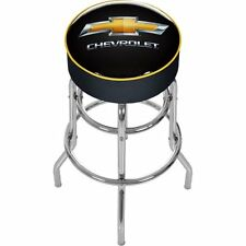 Chevrolet Padded Swivel Bar Stool