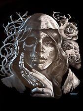 T-shirt, Gothic Girl, Day of Dead Girl 20297