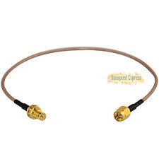 30cm Antenna RP-SMA Buchse Auf SMA Stecker Kabel Pigtail WiFi Router Vergoldet