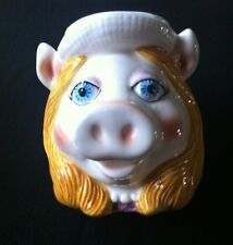 Jim Henson Muppets Miss Piggy 3D Ceramic Hand Painted Coffee Mug