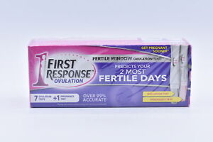 First Response 7 Ovulation Tests and 1 Pregnancy Test, EXP: 06/05/2022