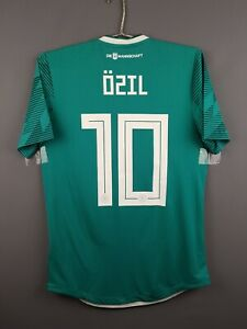 Ozil Germany authentic jersey small 2019 shirt BR3143 soccer Adidas ig93