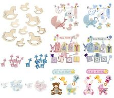 Baby Themed Card Toppers Scrapbooking Embellishments - Craft For Occasions