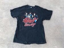 Vtg RARE 1980 Heart Bebe Le Strange Tour Concert Band T Shirt sz L 80s hanes
