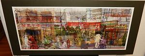 KOZYNDAN AUGUSTE CLOWNGALL LARGE COLOR POSTER SIGNED