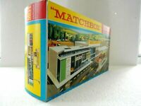 MATCHBOX LESNEY SUPERFAST PRODUCT -G-1 SERVICE STATION SET REPRO EMPTY BOX