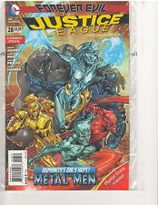 JUSTICE LEAGUE #28 COMBO PACK NEW 52 (March 2014, DC Comics)