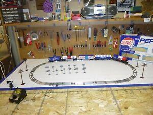 C-8 O gauge K-Line Pepsi Cola Starter train set tested, runs perfect in OB 027