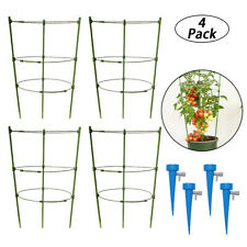 Garden Plant Support Tomato Cage for Climbing Plants Kits with 4 Self Watering S