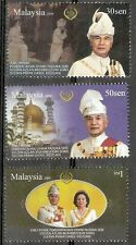Silver Jubilee Of Sultan Perak Malaysia 2009 King Royal People Leader (stamp MNH