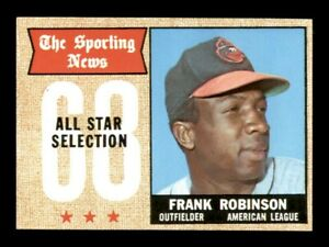 1968 Topps Set Break # 373 Frank Robinson All Star NM-MINT *OBGcards*