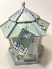 "Kathy Hatch ""The Vintage Herb Collection"" Gazebo Handpainted Birdhouse 10""tall"