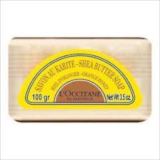 L'Occitane  ORANGE HONEY  Shea Butter Soap NIB