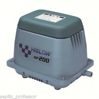 BLUE DIAMOND ET100 ET120 FILTER SEPTIC POND AERATOR LINEAR AIR REPLACE YEARLY