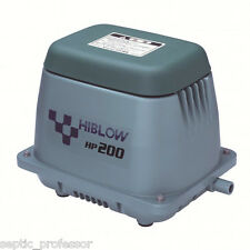 HIBLOW HP-200  NEW SEPTIC AIR PUMP POND AERATOR DIY 2DA