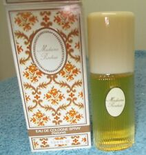 VINTAGE MADAME ROCHAS EAU DE COLOGNE SPRAY NATUREL 1.3/4 OZ IOB 98 % FULL
